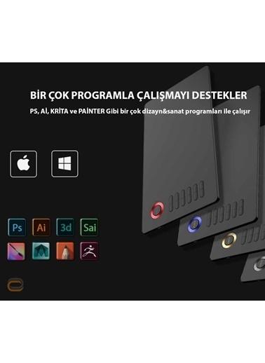 Veikk Veikk A15 8192 Levels Zoom Uyumlu 5080Lpi Grafik Tablet+Kalem Renkli
